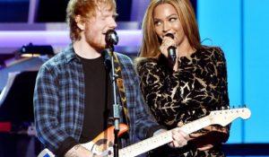 Ed Sheeran e la difficoltà di contattare Beyoncé: cambia email ogni 7 giorni