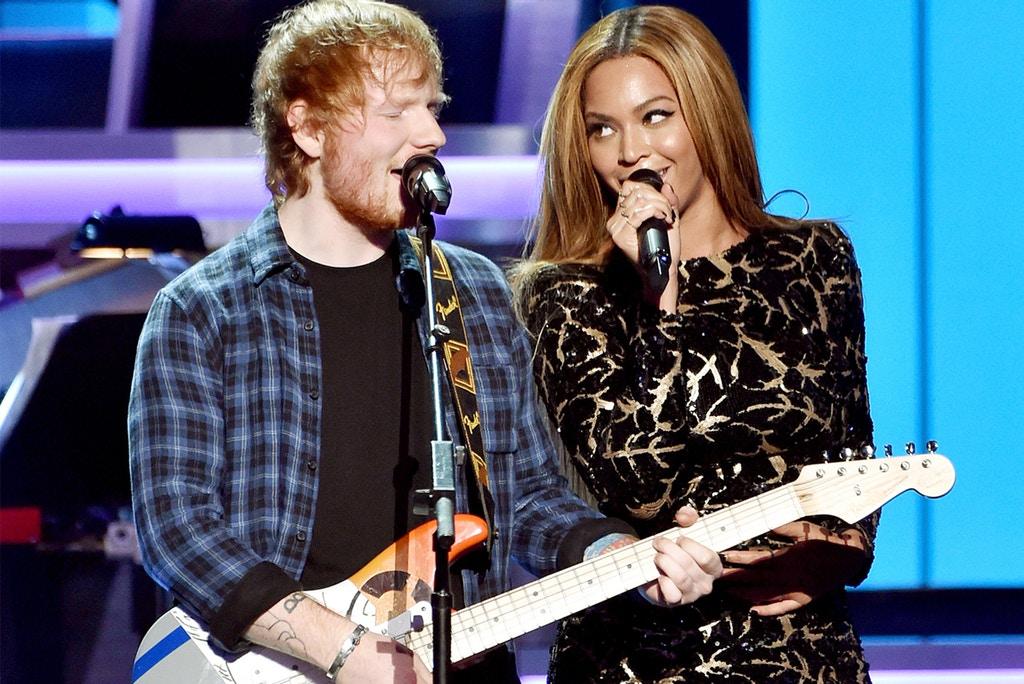 Ed Sheeran email Beyoncé