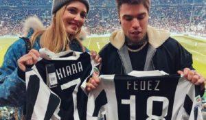 Fedez e Chiara allo stadio: la prima volta della coppia