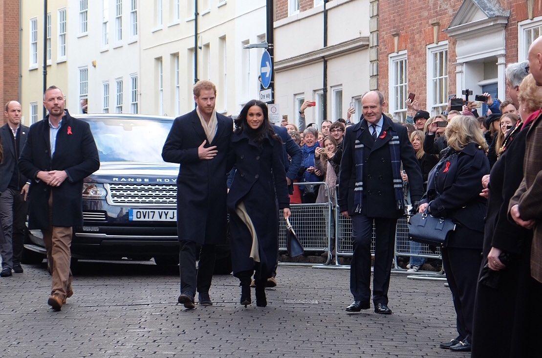 Principe Harry e Meghan Markle a Londra