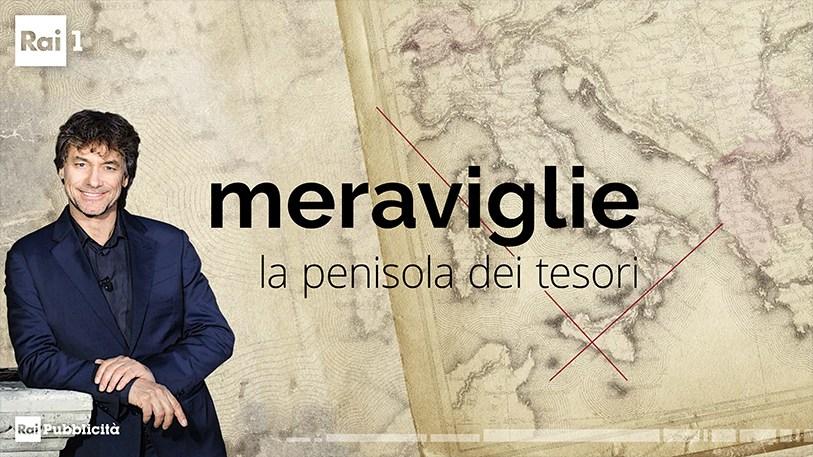 Quattro puntate alla scoperta delle Meraviglie d'Italia con Alberto Angela