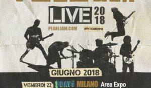 I Pearl Jam tornano in Italia con tre live: appuntamento a giugno