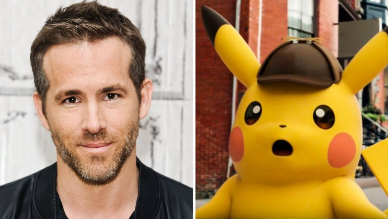 Ryan Reynolds interpreterà Detective Pikachu nel film sui Pokemon