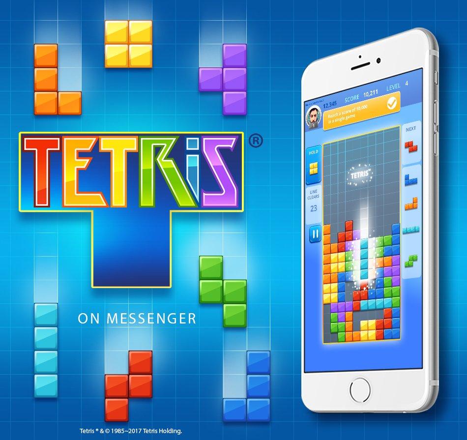 tetris su facebook