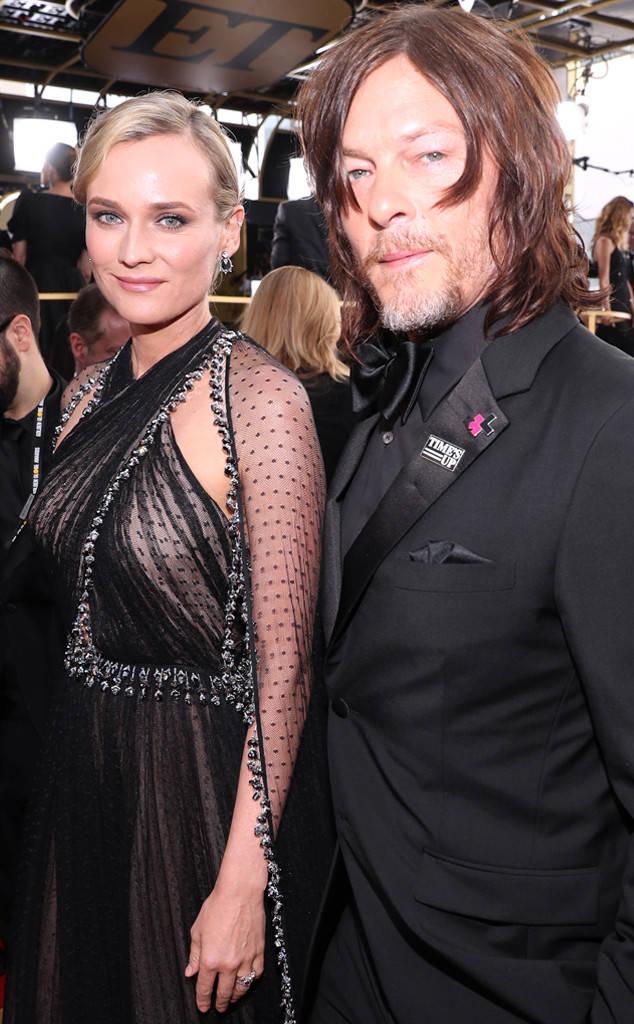 Diane Kruger innamorata di una star di The Walking Dead