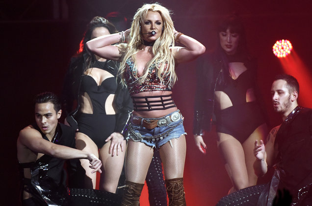 britney spears world tour