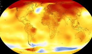 Il Pianeta scotta: il 2017 è stato il secondo anno più caldo mai registrato