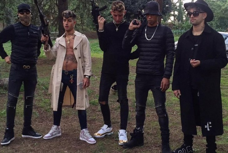 Dark Polo Gang lascia la Siae