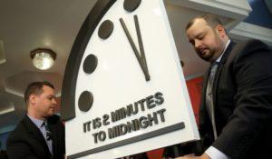 L'Orologio dell'Apocalisse segna 2 minuti alla fine del mondo