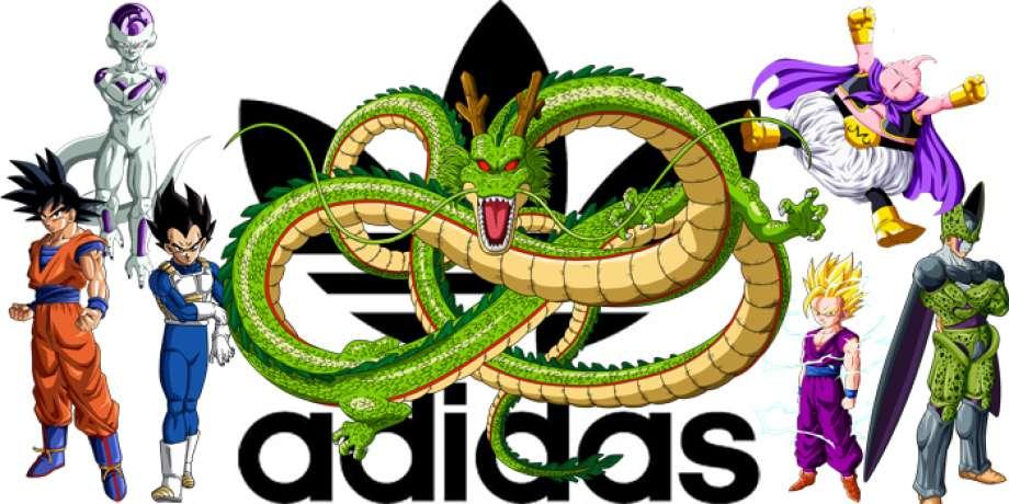 scarpe adidas ispirate a dragon ball