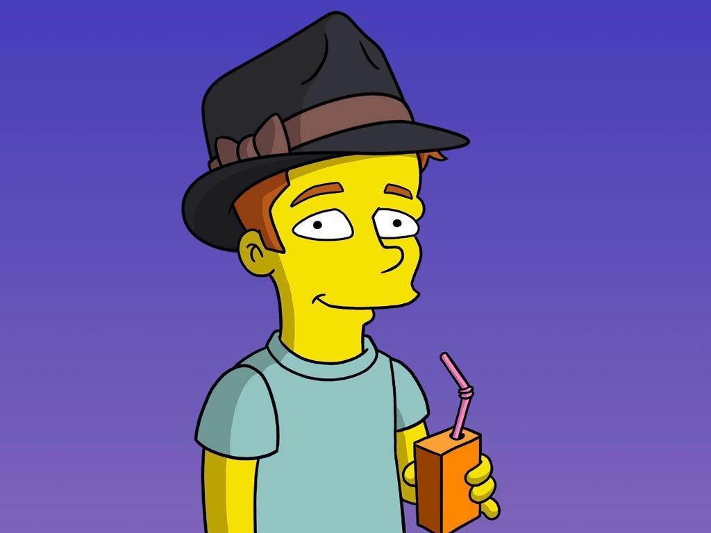 Ed Sheeran nei Simpson