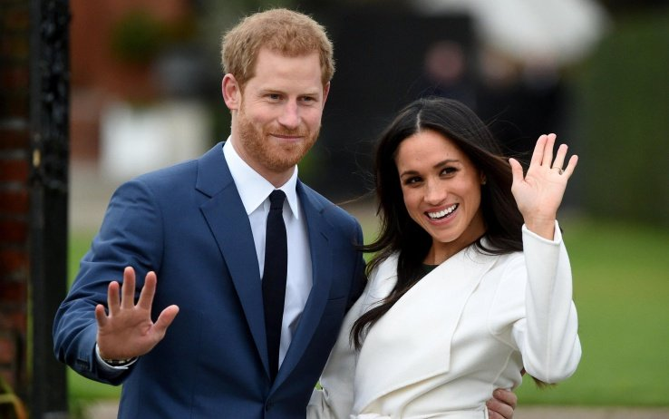 Principe Harry e Meghan Markle film