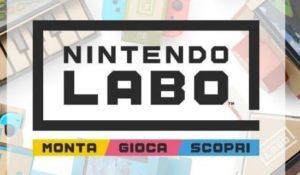 La creatività prende vita con Nintendo Labo