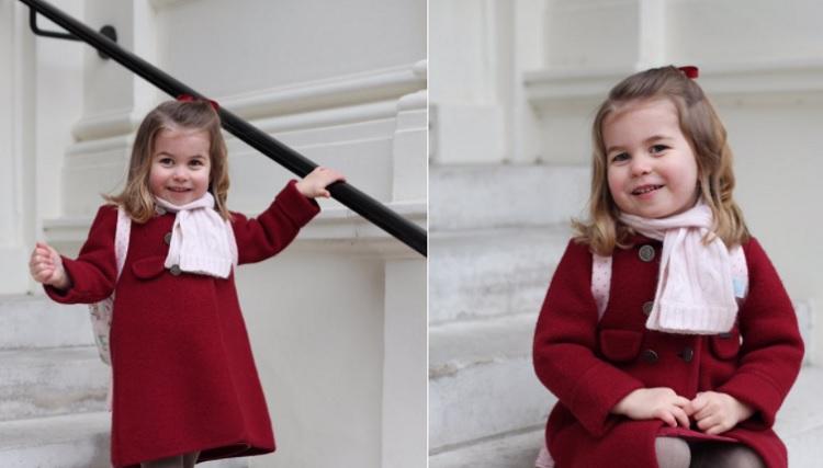 principessa Charlotte ama la scuola