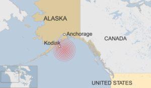 Violento terremoto nel golfo dell'Alaska, è allarme tsunami