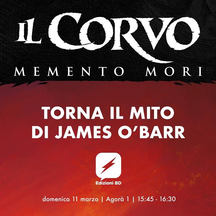 CARTOOMICS 2018 IL CORVO