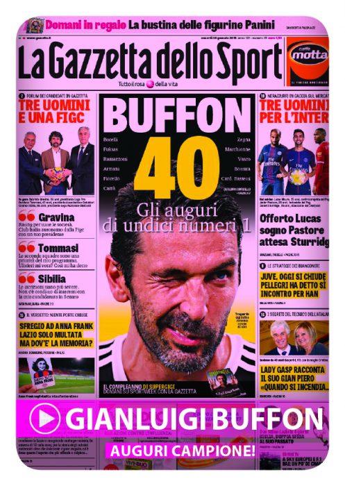 Film del Campionato 2017-18 - C12 Auguri campione (Buffon)