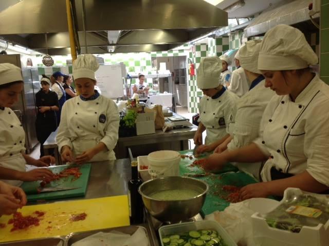Foto premiarione E-R School of Food