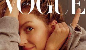 Bellissima! Gisele Bündchen senza trucco sulla copertina di Vogue Italia