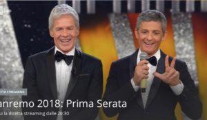 Sanremo con noi: tutto sulla prima serata