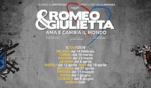 """Al via la nuova tournée di """"ROMEO E GIULIETTA. AMA E CAMBIA IL MONDO"""""""