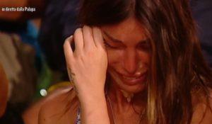 Isola dei famosi, Bianca Atzei in lacrime per Max Biaggi