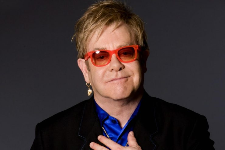 Elton John al matrimonio di Harry