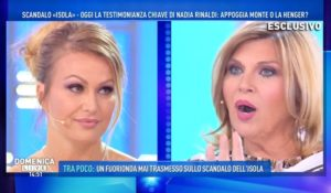 Canna-gate, Eva Henger contro Nadia Rinaldi a Domenica Live