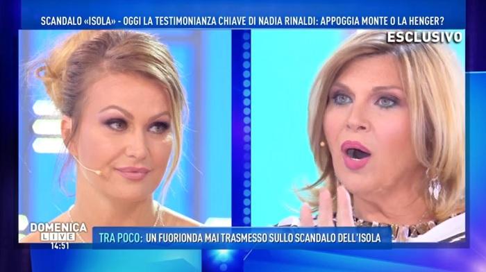 Eva Henger contro Nadia Rinaldi