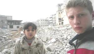 Muhammad Najem, il reporter 15enne che racconta gli orrori di Ghouta