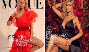 Kim Kardashian su Vogue India, scelta non condivisa da molti utenti