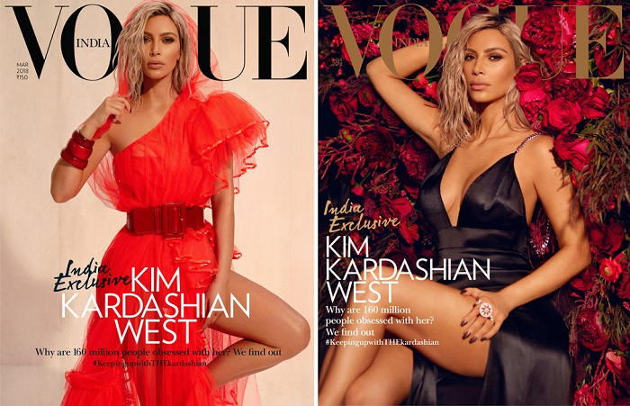 kim kardashian vogue india