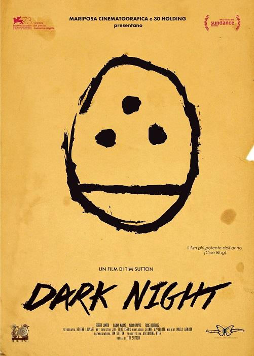 locandina DARK NIGHT DEF