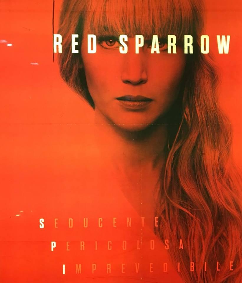 red sparrow recensione