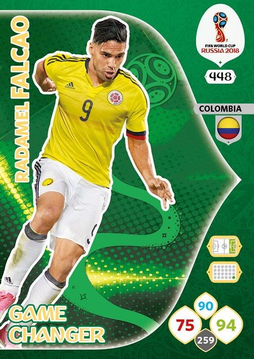 Falcao - Colombia WC2018 card GC