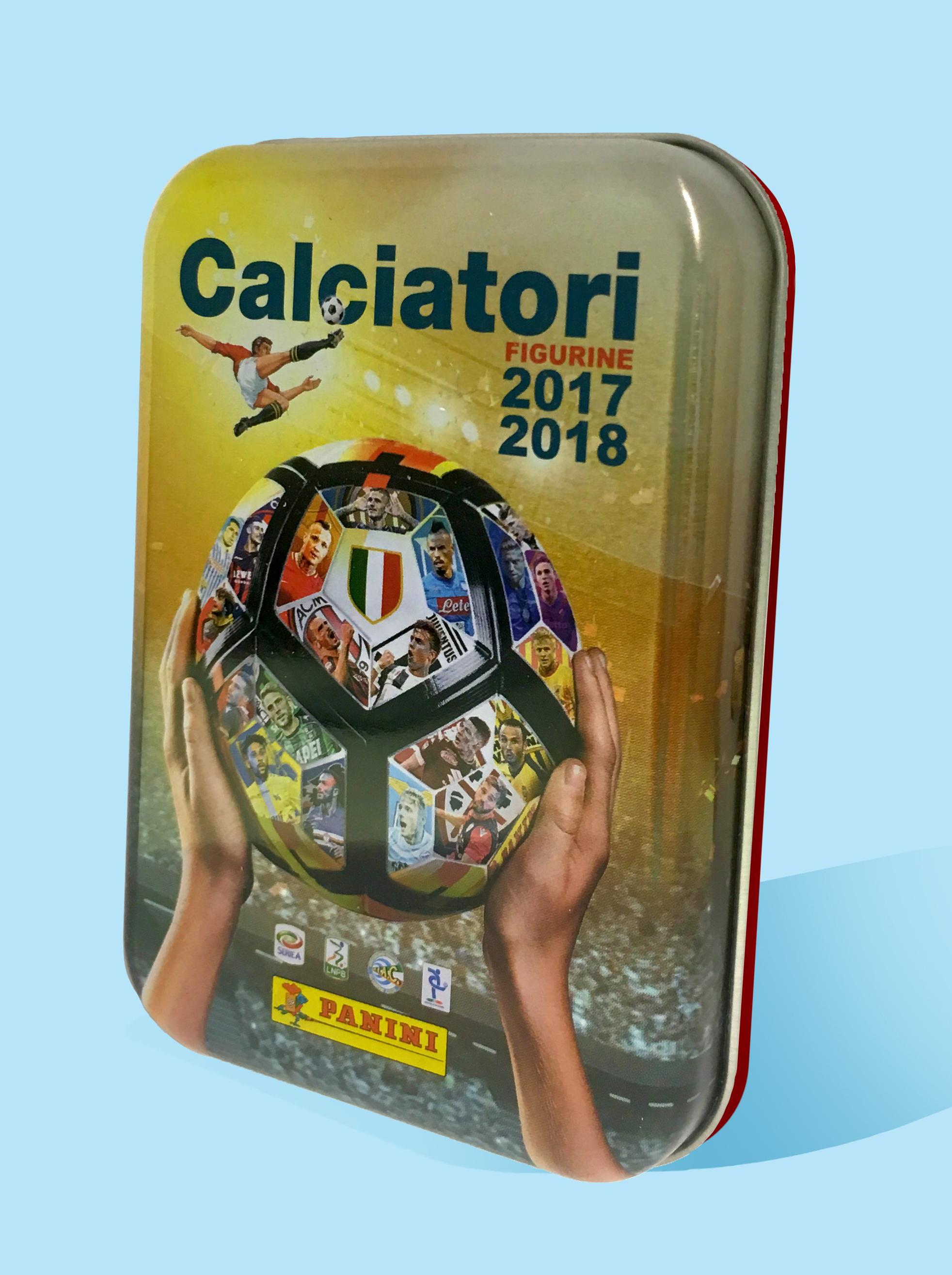 Panini Calciatori 2017-2018 aggiornamenti tinbox