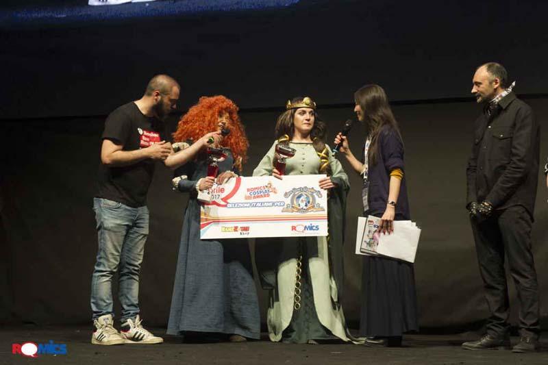 Romics Cosplay Award
