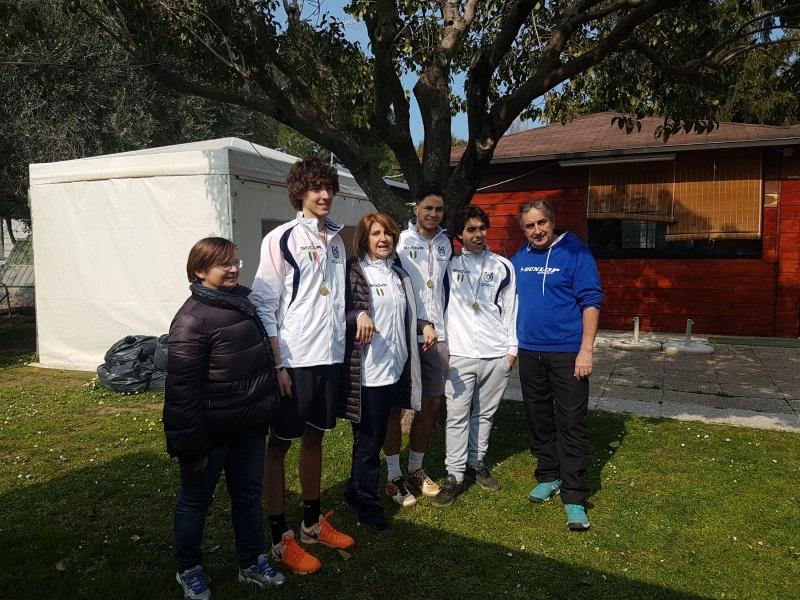 Tennis_squadra maschile vincitrice