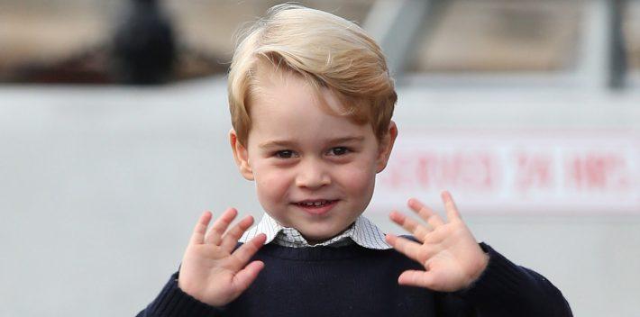 principe George cosa vuole fare da grande
