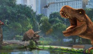 Jurassic World Alive, dinosauri nel mondo reale come Pokémon GO