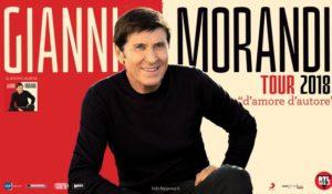 Anche Gianni Morandi sul palco del Lucca Summer Festival