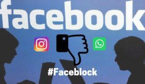 Gli utenti di Instagram e Whatsapp boicottano Facebook