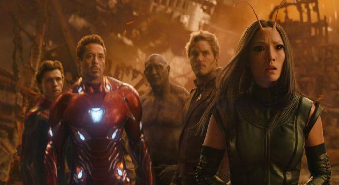 debutto di Avengers Infinity War