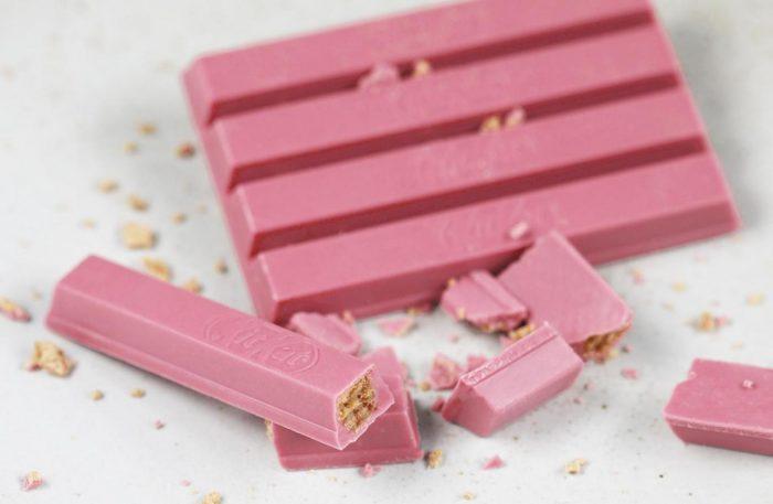 Kitkat Al Cioccolato Rosa Arrivano Le Nuove Barrette Quot Ruby Quot