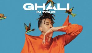 Ghali annuncia sui social il primo tour nei palazzetti