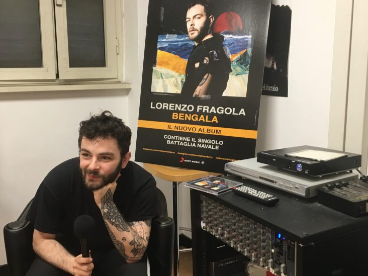 lorenzo fragola intervista