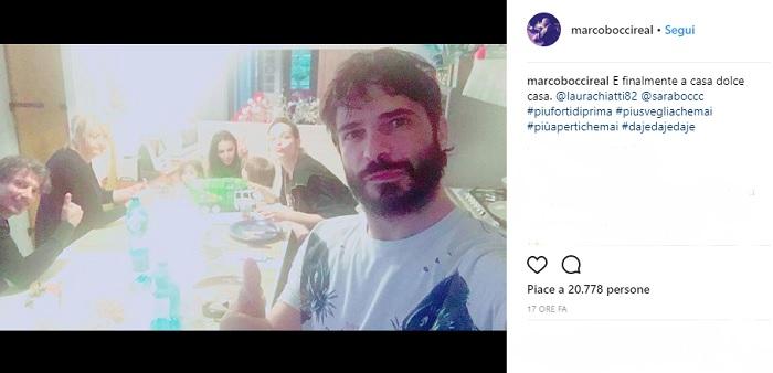 Marco Bocci torna a casa