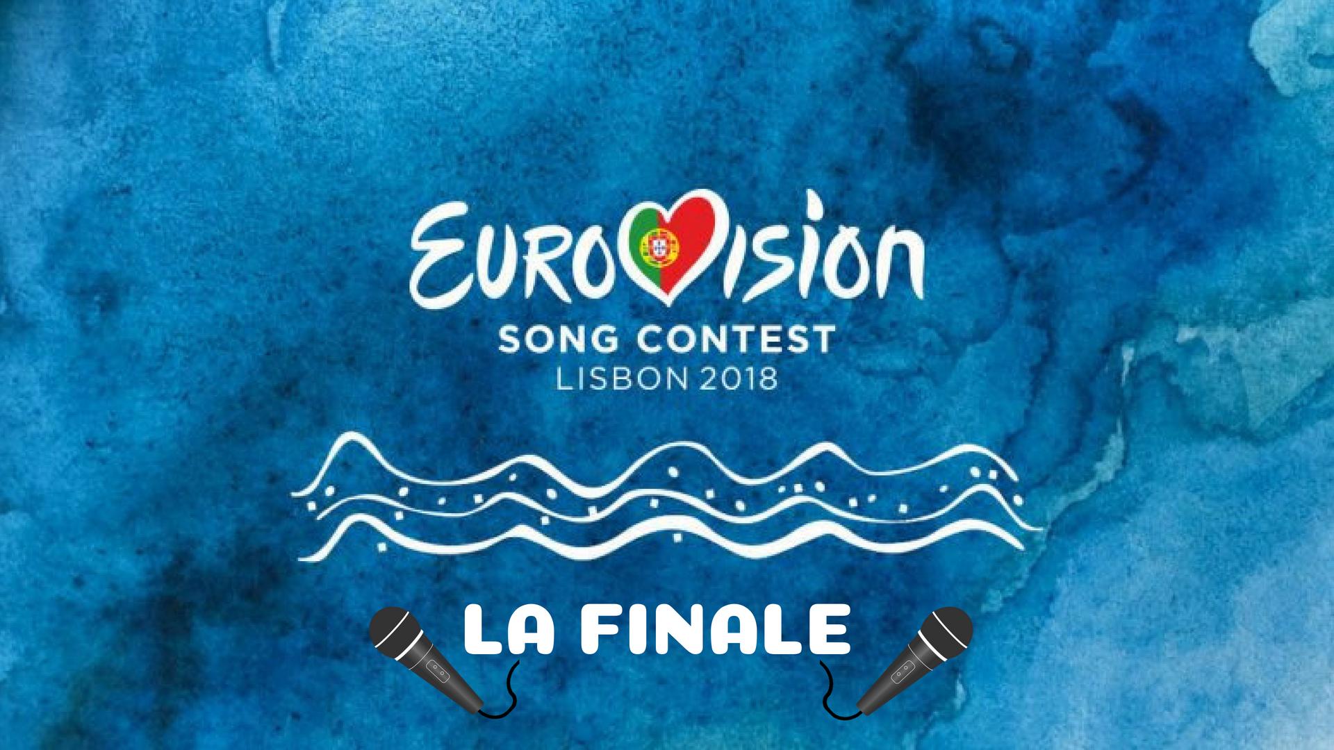 eurovision 2018 scaletta finale