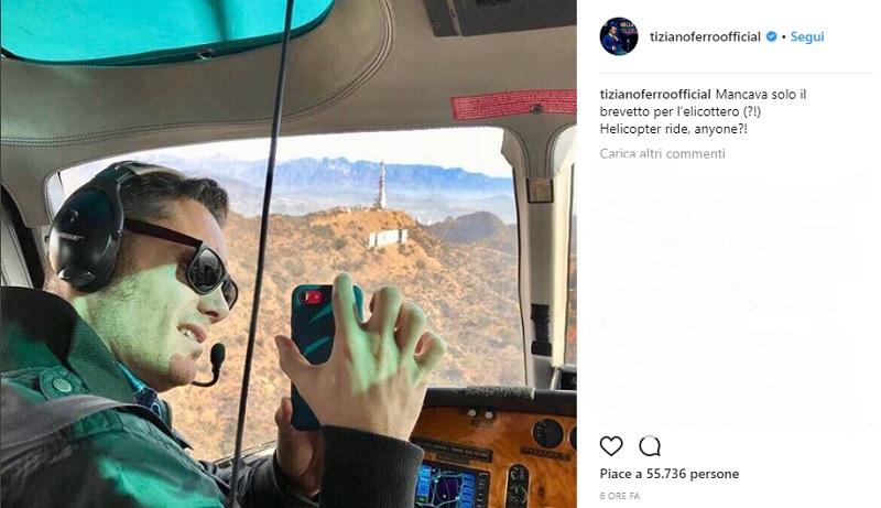 tiziano ferro brevetto elicottero