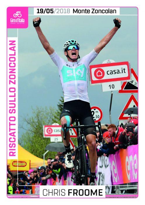 Film del Giro 2018 - G9 Riscatto sullo Zoncolan (Froome)